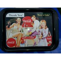 Charola Coca Cola Chicas Pin Up De Coleccion