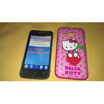 Protector Hello Kitty One Touch M´pop Alcatel 5020