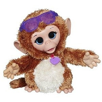Furreal Amigos Bebé Cuddles Mi Giggly Mono Mascota De Peluch