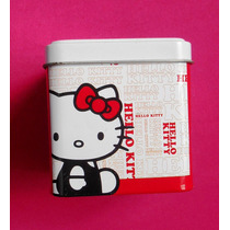 Hello Kitty Estuche Cajita Metalica P/reloj Vv4