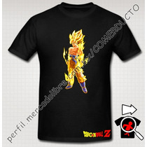Playera Goku El Legendario Super Sayayin Dragon Ball Z Lbf