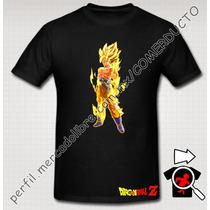 Playera Goku El Legendario Super Sayayin Dragon Ball Z