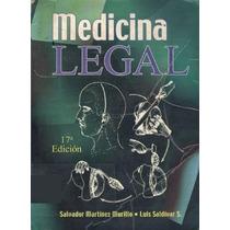 Medicina Legal Martínez Murillo 17ª Edición - Libro