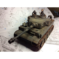 Tiger I 1/35 Dragon Models Tanque Alemán Wwii