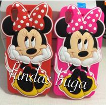 Funda Mimi Htc 626 Minnie Mouse Protector Silicon Htc626