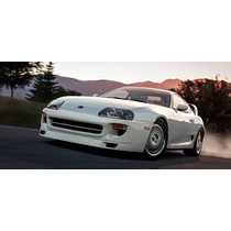 1:18 Toyota Supra 1995 De Paul Walker --blanco--