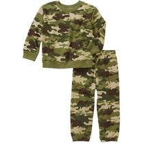 Pans Sudadera Camuflaje Militar Talla 12 Meses Envio Gratis