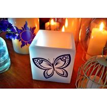 Pantalla Decorativa Para Fiesta De Xv Años Con Tema Mariposa