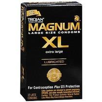 Trojan Magnum Xl Condones Preservativos Extra Largos