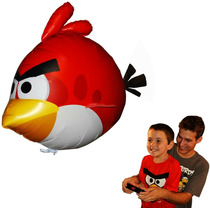 Angry Birds Air Swimmers Turbo - Red Flying Remote Control B