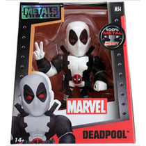 Jada White Deadpool Figura Metal Marvel