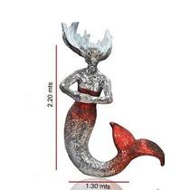 Sirena Escultura Decorativa