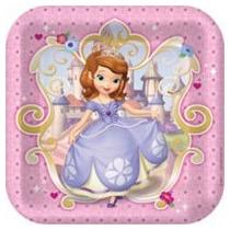 La Princesa Sofia Disney Fiesta Platos Vasos Servilletas