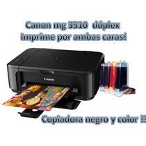 Multifuncional Canon Pixma Mg3610 Con Sistema De Tinta