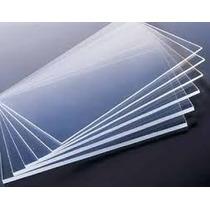Acrílico Transparente Lámina 30 X 30 Cm