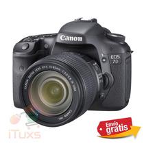 Canon 7d Lente 15 - 85 Mm Camara Eos Reflex - Envio Gratis -