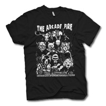 [art-factory] Indie Rock Bands - Playera De Arcade Fire