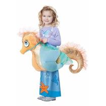 Disfraz Sirena Sirenita Caballo Caballito De Mar Para Niñas