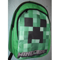 Mochila Creeper Minecraft. Zombie Ouija One Direction