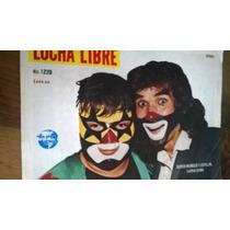 Super Muñeco Y Cepillin.en Revista Lucha Libre # 1229 $80.00