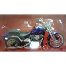 Harley Davidson 1999 Fxsts Springer Softail Escala 1:18