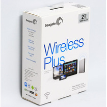 Seagate® Wireless Plus 2 Tb Wi-fi Para Tablets Celulares
