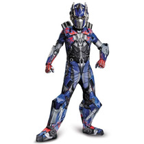 Disfraz Niño Transformers Optimus Prime Version Lujo