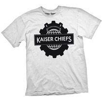 [art-factory] Indie Rock Bands - Playera Kasier Chiefs