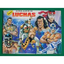 1991 Super Album De Lucha Libre Completo 132 Estampas