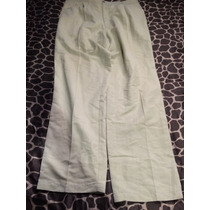 Pantalon Hugo Boss Creo 38x32 Green Tag Tono Hueso