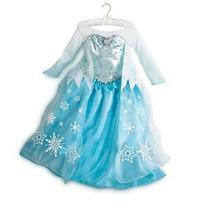 Vestido Elsa Frozen Original Disney Store Envio Gratis