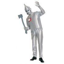 Mago De Oz Disfraz Adultas - Tin Man Tinman Vestido De Lujo