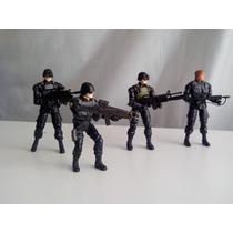 The Incredible Hulk 4 Figuras Militares