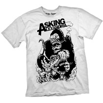 [art-factory] Indie Rock Bands- Playera De Asking Alexandria