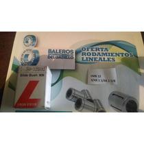 Rodamiento Lineal Lmb12 3/4 Pulgada Diam. Int.