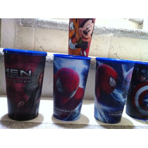 Vasos Spiderman, X-men,rio,capitan America, Mickey Mouse