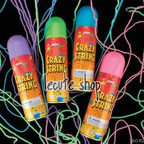 6 Spray Aerosol Serpentina Fiesta Batucada Evento Cumpleaños