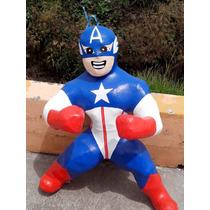 Piñatas Capitan America O Boss Ligth Y
