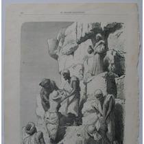 Litografia (23x31 Cms): Egipto. Subida A Las Pirámides.