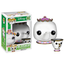 Muñeco Funko Pop Disney: Mrs. Potts And Chip