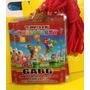 Mario Bross 10 Gafete Vip Invitacion Fiesta