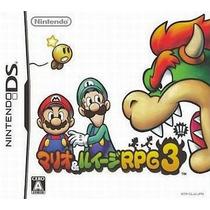 Mario & Luigi Rpg3 Nintendo Ds Japonesa