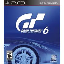 Juego Para Ps3 Gran Turismo 6 Físico. Nuevo Y Sellado.