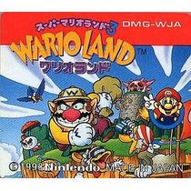 Super Mario Land 3 Wario Land Gameboy Japonesa