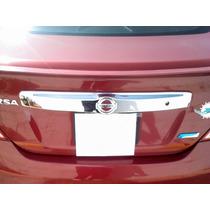 Barra Trasera Cromada Nissan Versa 2012 2013 2014 2015 2016