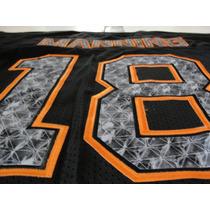 Jersey Peyton Manning #18 Denver Broncos Hombre 48(m)