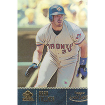 2001 Topps Gold Label Class 2 Brad Fullmer Dh Blue Jays