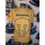 Ofertjersey Oficial Pumas Unam Nike 2014-2015 Oro Visita