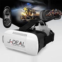 J-deal Vr 3d Realidad Virtual Headset Gafas 3d Ajuste Cartón