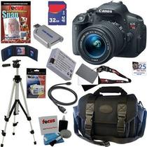 Oferta* Canon Rebel T5i 18mp Camaraincluye Kit Completisimo